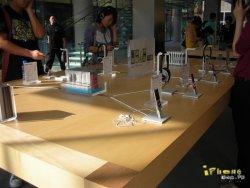 des photos de l 39 apple store de p kin en chine gamergen com. Black Bedroom Furniture Sets. Home Design Ideas