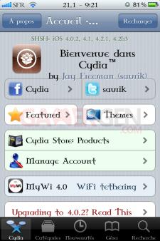 account cydia