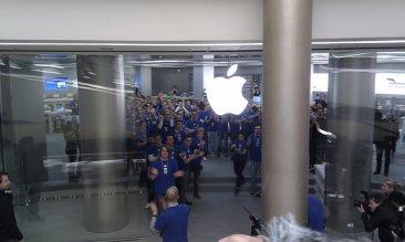 altmarkt-galerie-dresden-allemagne-apple-store