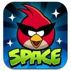 Angry Brids space logo