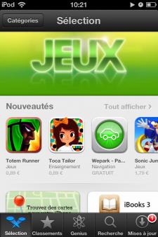 App Store augmentation des prix  (1)