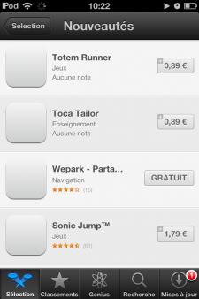 App Store augmentation des prix  (3)