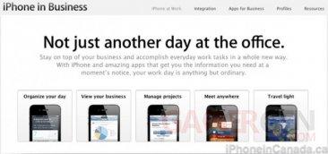 apple-mis-à-jour-site-web-iphone-en-entreprise
