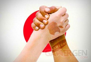 apple et samsung au japon