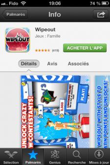AppStore Relooké iOS6