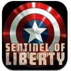 Captain America Sentinel of Liberty logo