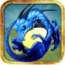 dragon-island-blue-logo-icone
