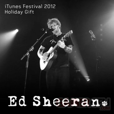 ed-sheeran-itunes-festival-2012-holiday-gift
