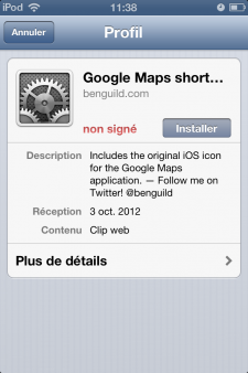Google maps iOS 6 (2)