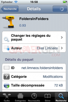tweak FoldersInFolders