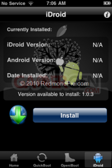 Installation-Android-iPhone-3G-3