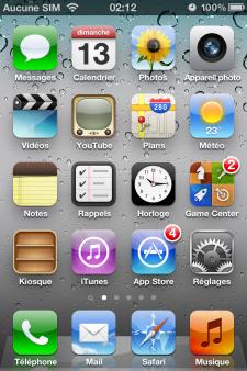 iOS 5.1.1 batteri 1