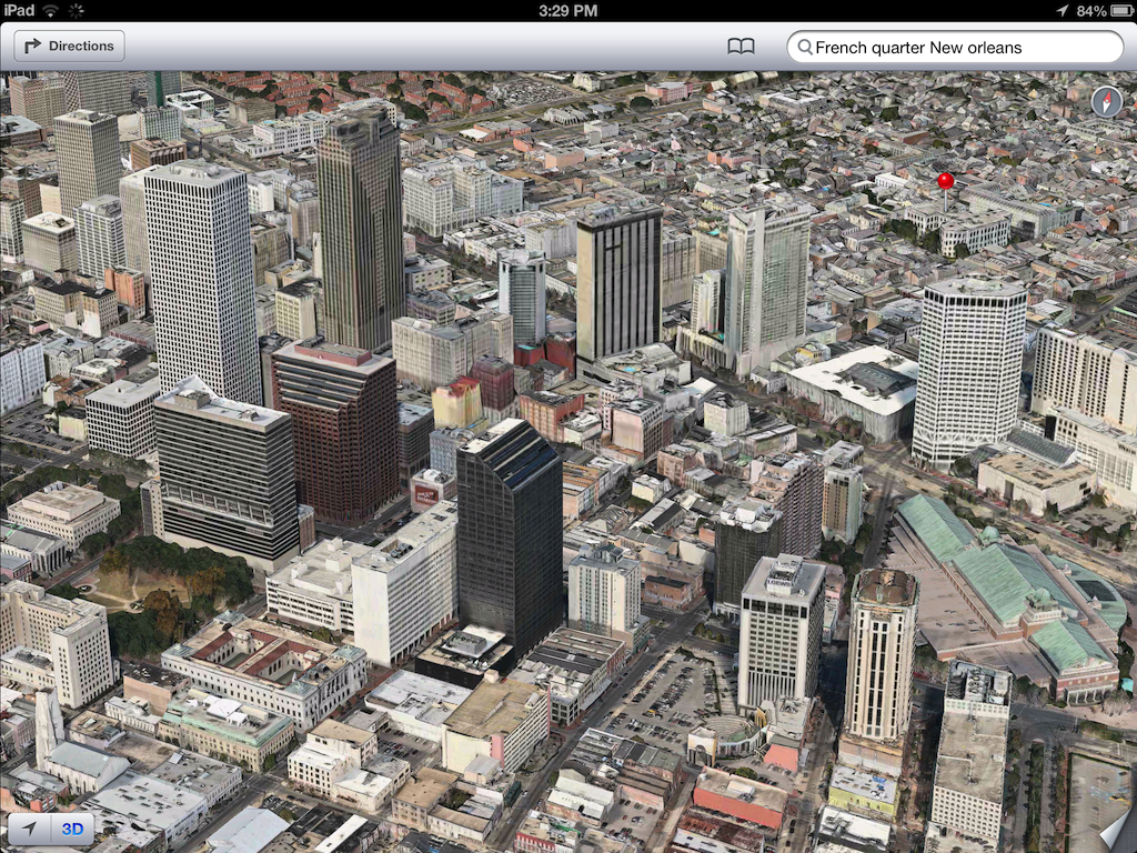 iOS 6 plans 3D image screenshot 001