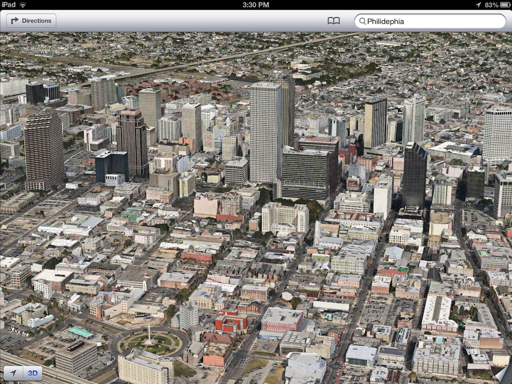 iOS 6 plans 3D image screenshot 002