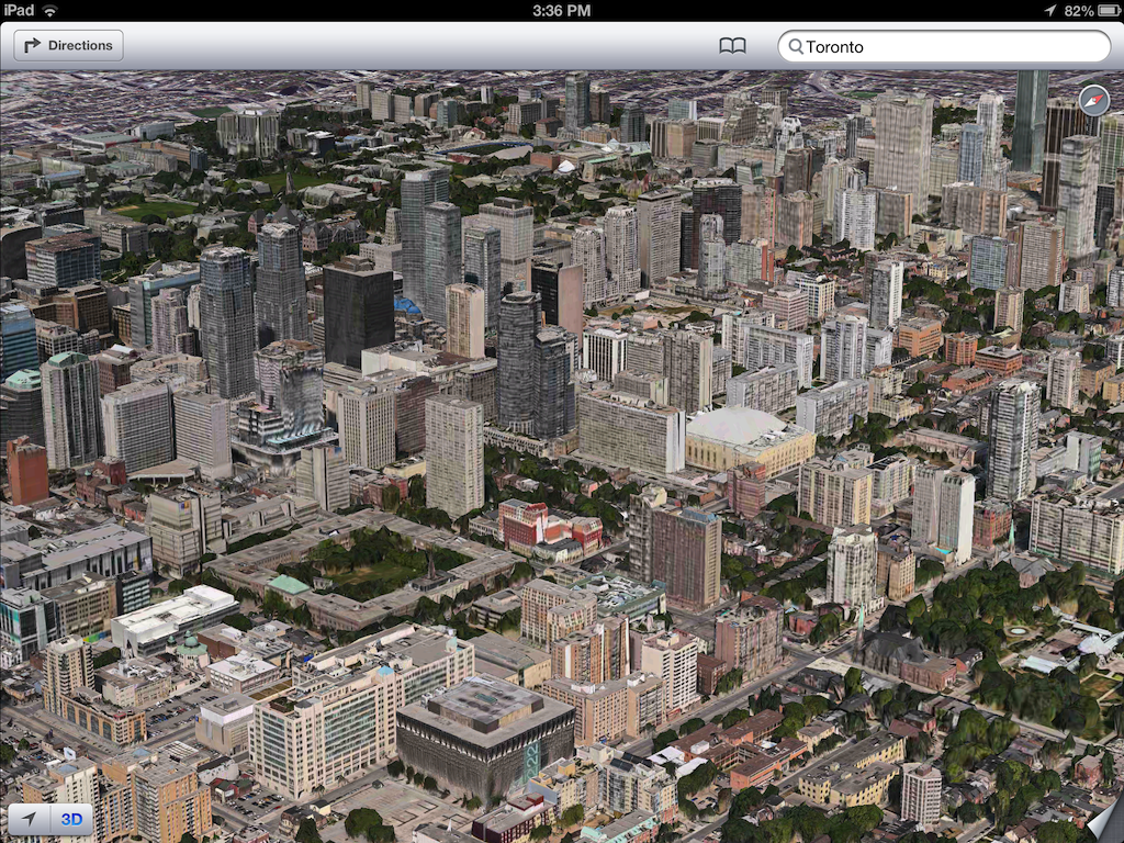 iOS 6 plans 3D image screenshot 003