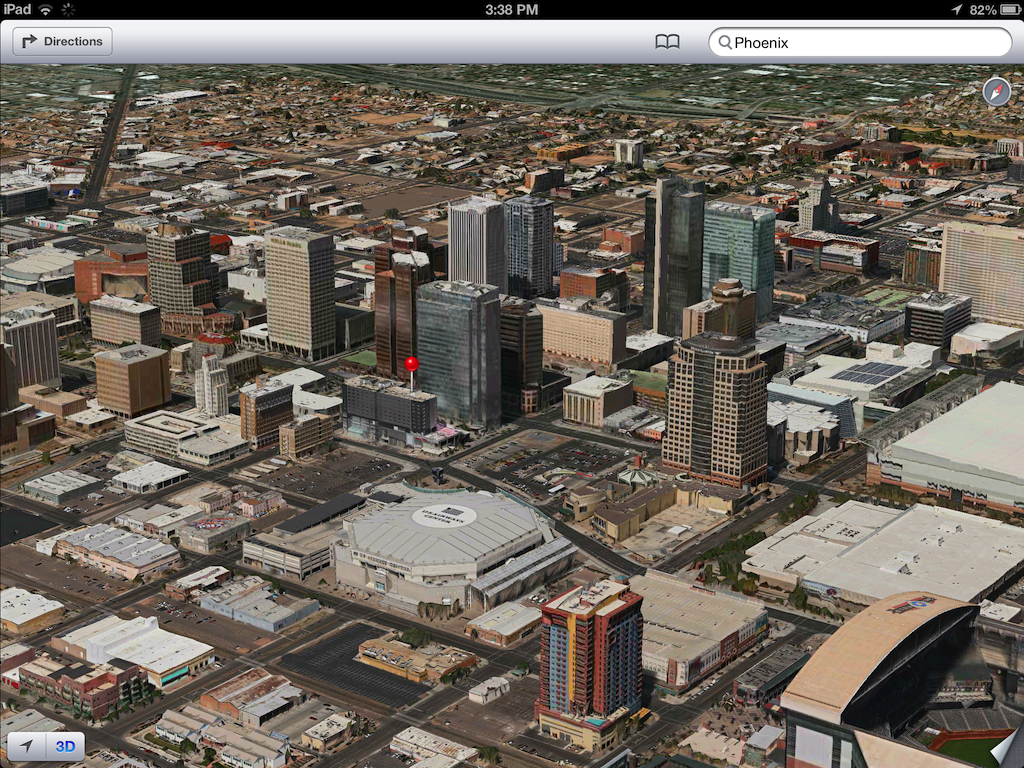 iOS 6 plans 3D image screenshot 004