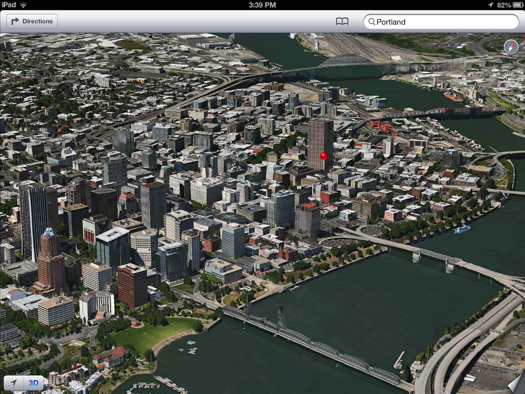 iOS 6 plans 3D image screenshot 005