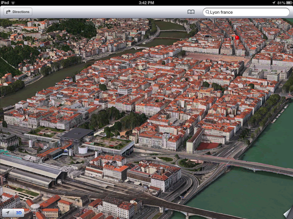 iOS 6 plans 3D image screenshot 006