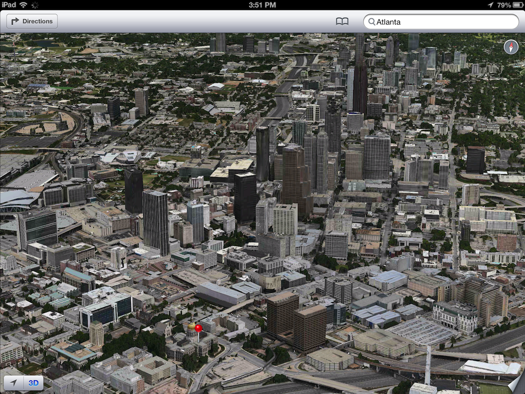 iOS 6 plans 3D image screenshot 007