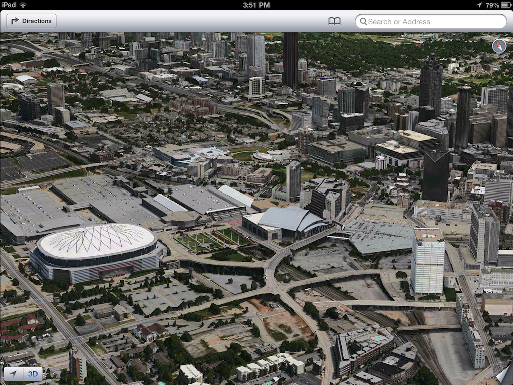 iOS 6 plans 3D image screenshot 008