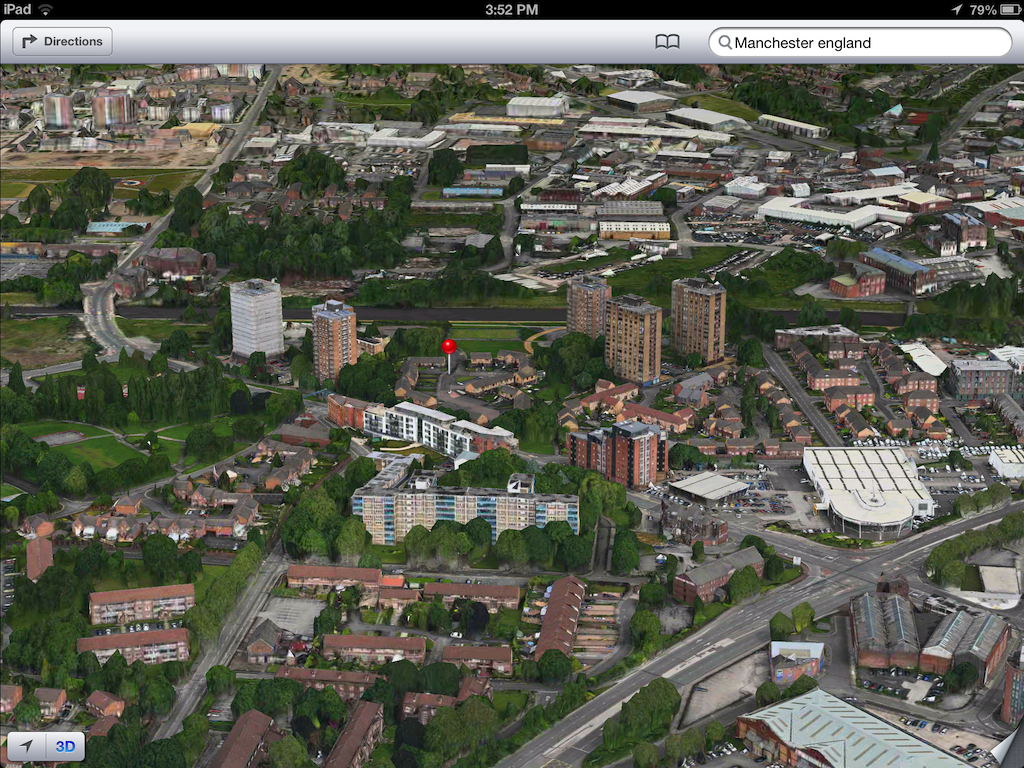 iOS 6 plans 3D image screenshot 009