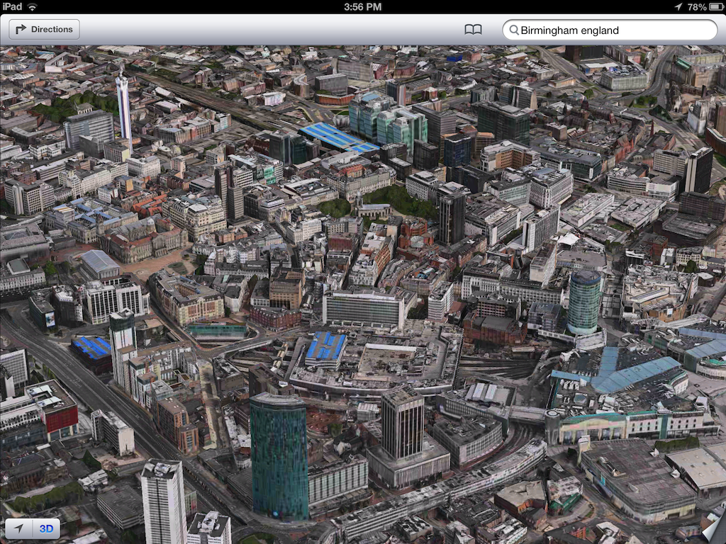 iOS 6 plans 3D image screenshot 010