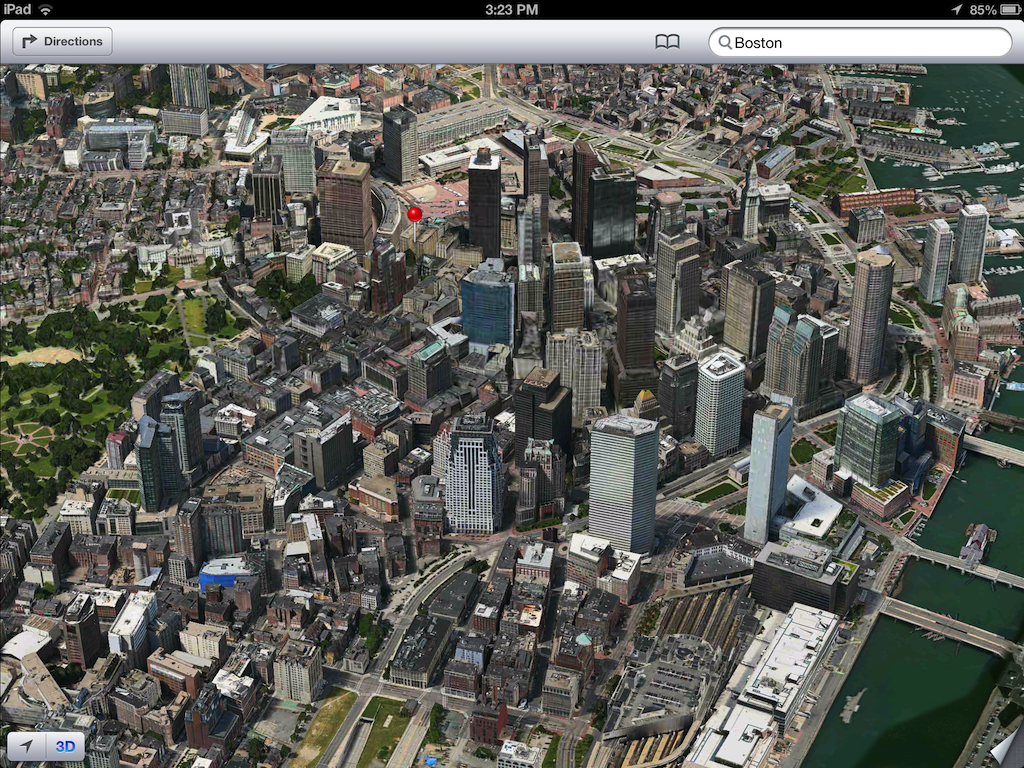 iOS 6 plans 3D image screenshot 011