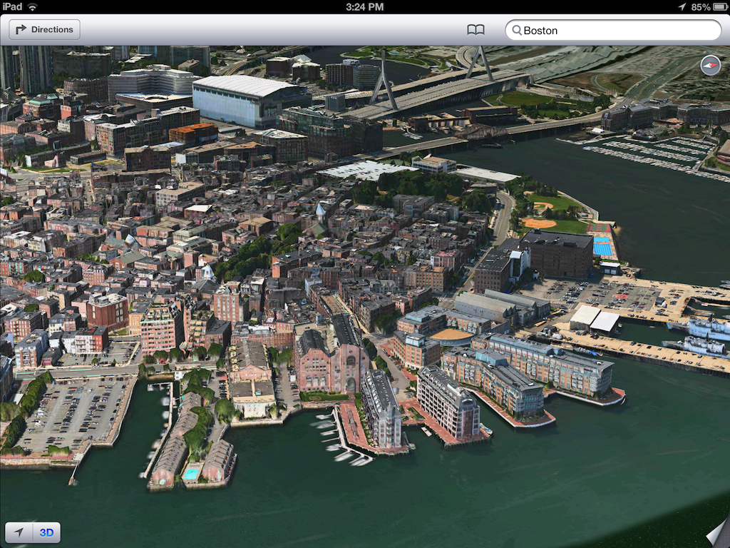 iOS 6 plans 3D image screenshot 012
