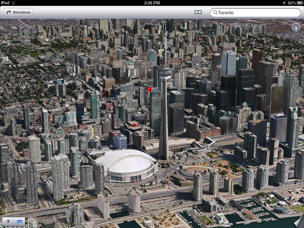 iOS 6 plans 3D image screenshot 013