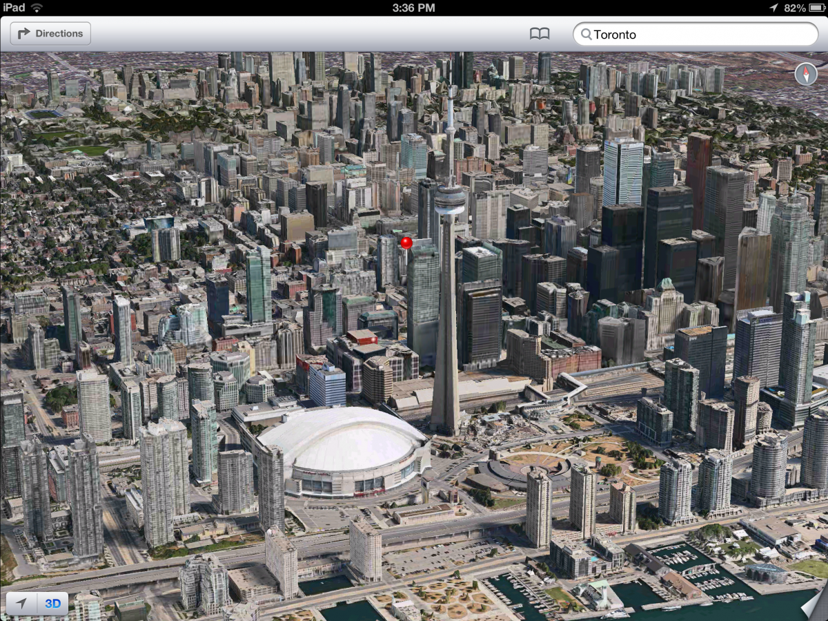 iOS 6 plans 3D image screenshot 014