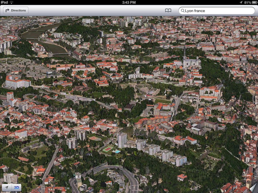 iOS 6 plans 3D image screenshots 001