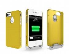 iphone-4-4S-accessoire-batterie-supplémentaire-boostcase-hybrid-jaune