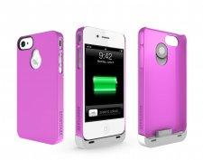 iphone-4-4S-accessoire-batterie-supplémentaire-boostcase-hybrid-rose