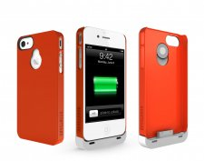 iphone-4-4S-accessoire-batterie-supplémentaire-boostcase-hybrid-rouge
