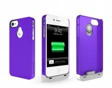 iphone-4-4S-accessoire-batterie-supplémentaire-boostcase-hybrid-violet