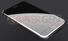 iphone 5 iPhone 5 Front view (prototype)