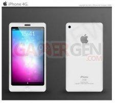iphone 5 iphone5-blanc