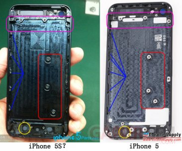 iPhone-5S-rear-housing