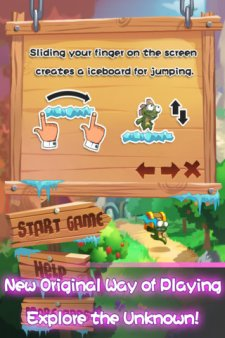 lost-jump-deluxe-application-app-store-promotion-du-jour-2