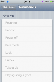 MyAssistant-iPhone-Cydia