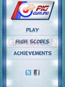 Pig Curling screenshots captures  00