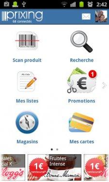 prixing-application-gratuite-comparer-les-prix-bon-de-reduction