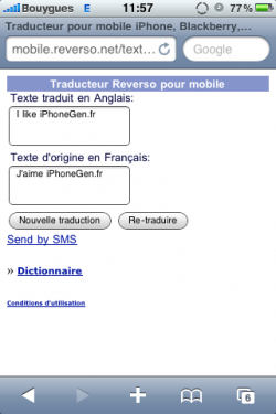 interactif traduction Franais-Anglais : Dictionnaire