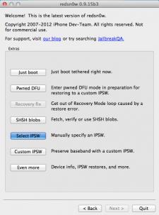Select IPSW