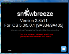 Sn0wbreeze-2.8b11