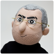 Steve Jobs peluche  2