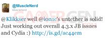 tweet-musclenerd-jailbreak-ios4.3.1-issue-cydia